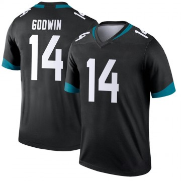 Youth Nike Jacksonville Jaguars Terry Godwin Black Jersey - Legend