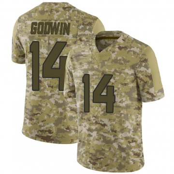 Youth Nike Jacksonville Jaguars Terry Godwin Camo 2018 Salute to Service Jersey - Limited