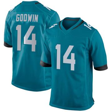 Youth Nike Jacksonville Jaguars Terry Godwin Teal Jersey - Game