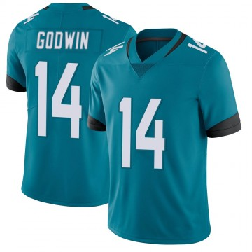 Youth Nike Jacksonville Jaguars Terry Godwin Teal Vapor Untouchable Jersey - Limited
