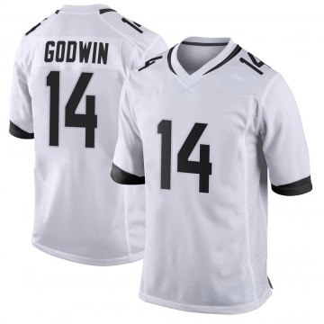 Youth Nike Jacksonville Jaguars Terry Godwin White Jersey - Game