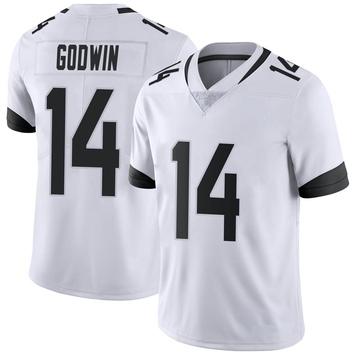 Youth Nike Jacksonville Jaguars Terry Godwin White Vapor Untouchable Jersey - Limited