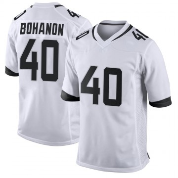 Youth Nike Jacksonville Jaguars Tommy Bohanon White Jersey - Game