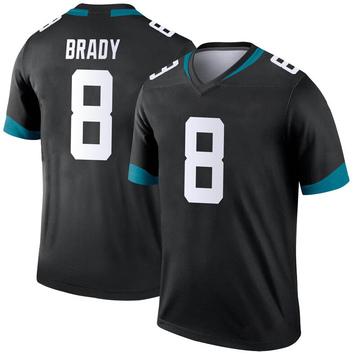 Youth Nike Jacksonville Jaguars Tyre Brady Black Jersey - Legend