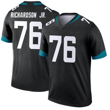 Youth Nike Jacksonville Jaguars Will Richardson Black Jersey - Legend
