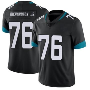 Youth Nike Jacksonville Jaguars Will Richardson Black Vapor Untouchable Alternate Jersey - Limited