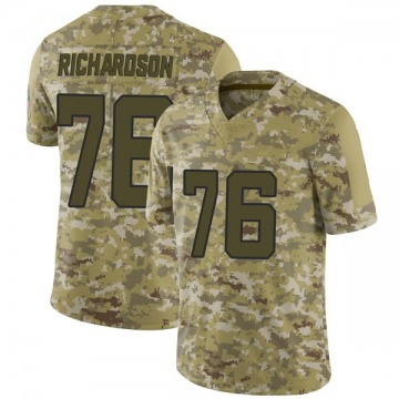 Youth Nike Jacksonville Jaguars Will Richardson Camo 2018 Salute to Service Jersey - Limited
