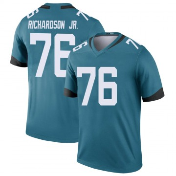 Youth Nike Jacksonville Jaguars Will Richardson Teal Color Rush Jersey - Legend