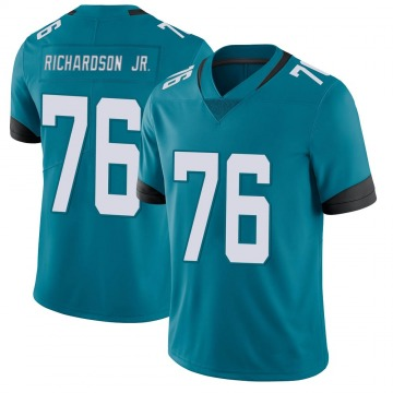 Youth Nike Jacksonville Jaguars Will Richardson Teal Vapor Untouchable Team Color Jersey - Limited