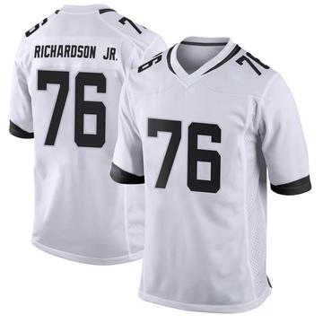 Youth Nike Jacksonville Jaguars Will Richardson White Jersey - Game